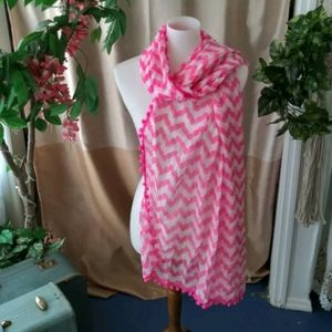 Lilly Pulitzer for Target Pink Pineapple Scarf